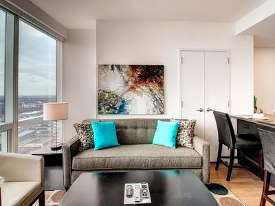 Photo for 1BR Apartment Vacation Rental in Jersey City, New Jersey