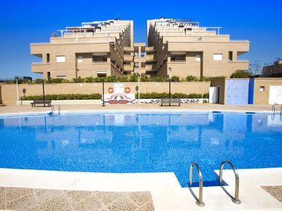 Photo for Apartment Jardin in Oropesa del Mar - 4 persons, 2 bedrooms