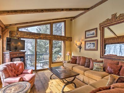 Photo for Renovated Condo w/ Deck - 7 Mins to Vail Village!