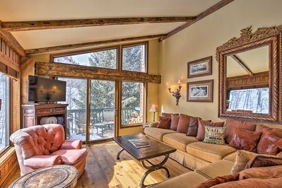 Your idyllic mountain hideaway awaits you at this Vail vacation rental condo.