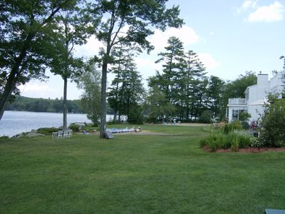 Photo for Modern lakefront home on Lake Waukewan with spectacular fall folliage views!