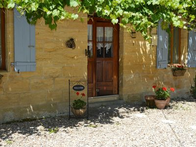 Photo for La Maison Bleue at Les Girouteaux  3 Lovely 4 Star Cottages with Pool