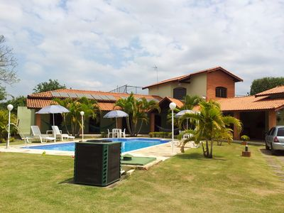 Photo for Sitio - Comfort and Safety - 4 Suites - 114 KM of SP - Large Heated Pool