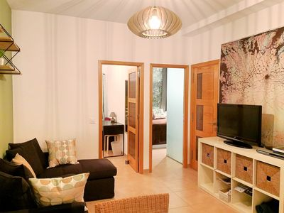 Photo for Comfortable and well equipped apartment near the beach