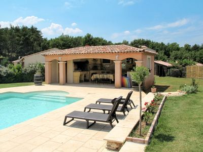 Photo for Vacation home Ferienhaus mit Pool (SJU120) in St. Julien le Montagnier - 12 persons, 3 bedrooms