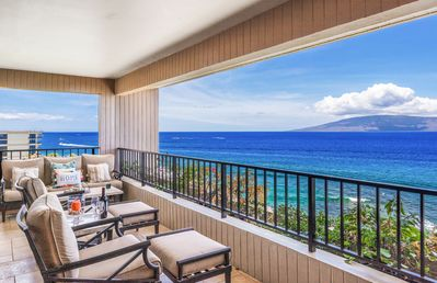 Photo for Maui Resort Rentals: Kaanapali Alii 3-1106 – Luxuriously Remodeled 2BR Oceanfront Royal Penthouse! The Crown Jewel of the Kaanapali Ali'i