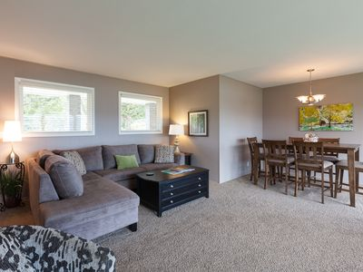 Photo for BLUE VIEW 30 Day Min - Ranch style home with  INSANE views of The Columbia River Gorge!