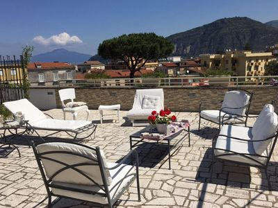 Photo for Penthouse Margherita, in Sant'Agnello center, near Sorrento, up to 6 guests.