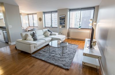 Photo for Luxury 2 Beds steps from Central Park With Doorman and Gym
