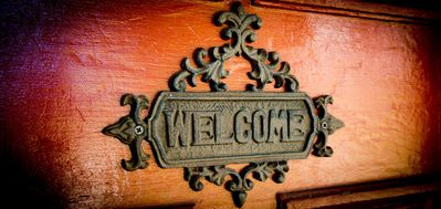 "Always ""WELCOME"""