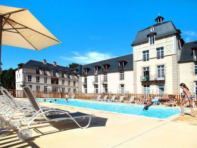Photo for Larmor-Baden Apartment, Sleeps 6 with Pool and Free WiFi