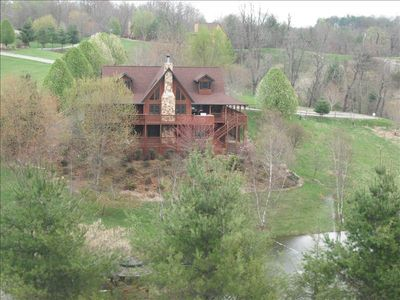 Photo for Beautiful Log Home with Many Activities and Lots of Relaxation