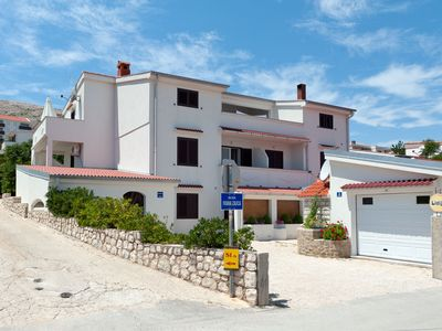 Photo for Apartments JADRAN for up to 10 people close to the sea in Pag