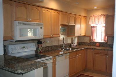 The Bridge kitchen has every major appliance and most minor ones, too.