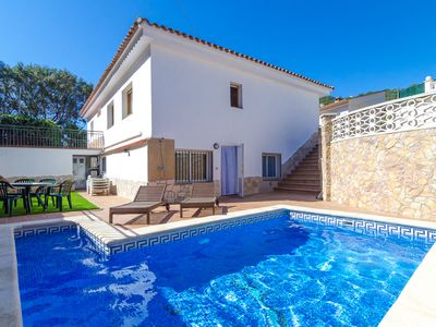 Photo for Club Villamar - Cozy villa with private pool, located at 2 minutes drive from the beach, an ideal...