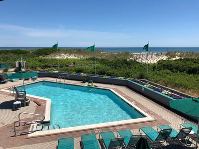 Photo for Oceanfront Penthouse Condo with a Pool