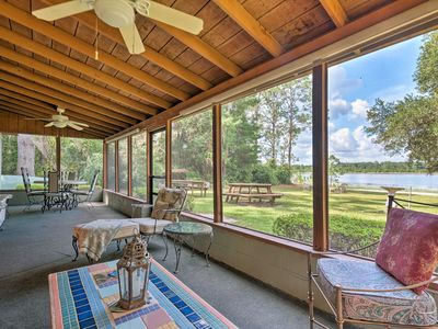 Photo for NEW! Lakefront Ocklawaha Home w/ Private Beach!