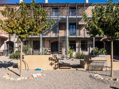 Photo for Apartments in a former cork factory, near the Spanish border u. Mediterranean Sea