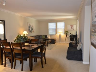 Photo for Modern Living - Spacious Private 1 Bed, 1 Bath that sleeps 4