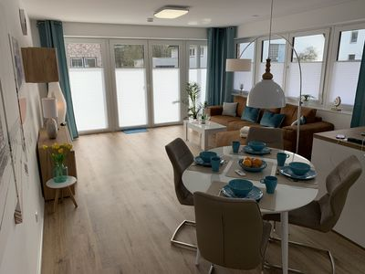Photo for Charming and modern apartment on two levels - perfect for couples and families -