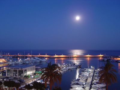 Photo for Unmatched views over Estepona Port from this welcoming front-line flat with Wifi