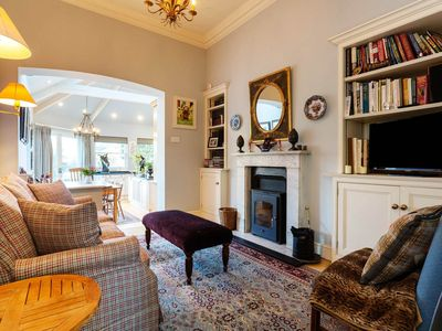 Photo for Classic style 4 bedroom home opposite the stunning Kew Gardens (Veeve)