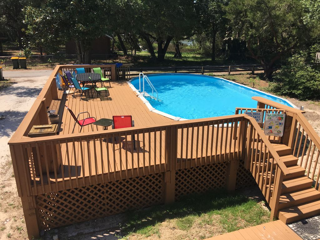 private paradise on bay fishing pier big vrbo