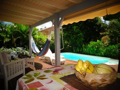 Photo for T3 Apartment In Villa With Private Pool Near Beach