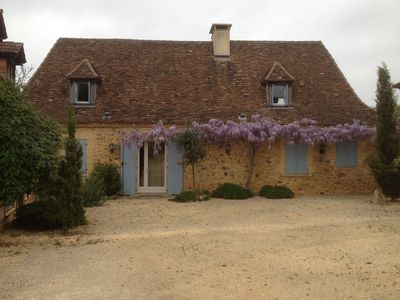 Photo for Country house Domaine de Laufrerie with a lot of privacy in a rural setting.