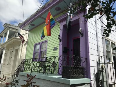 Photo for Charming 3BR whole house rental in the Faubourg Marigny  (18STR-15076)