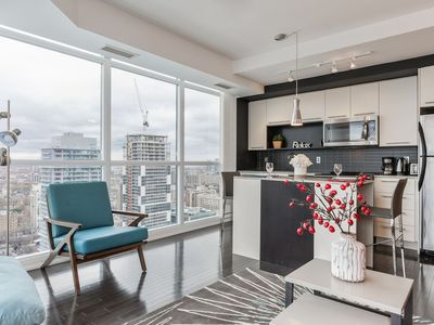 Photo for RATE DROP! - Clean and Pristine - Incredible Downtown Condo (Yonge & College)