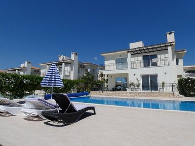 Photo for Modern villa with pool 10x5, beautiful garden and superior sea view