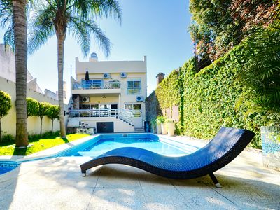 Photo for An Oasis W/Swimming Pool for 2 families or big groups (Dot Baires Mall)