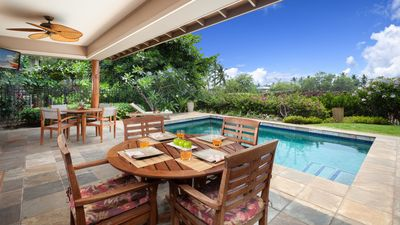 Photo for ❤️PiH❤️CORAL REEF★Heated Private Pool & Spa★ Large Home with Private Cottage