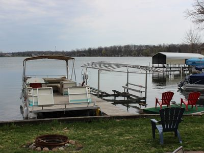 Photo for Lobdel lake Cottage Pontoon Boat included