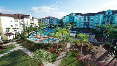 Photo for Roomy 2 Bedroom Condo @ Orlando Grande Villas - Just Minutes From Disney!