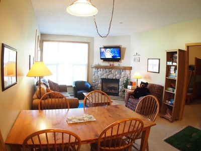 Photo for Ground floor 2 bedroom unit easy access to ski trails