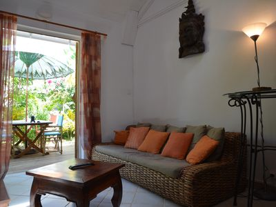 Photo for T3 Duplex furnished ground floor the lagoon Reunion