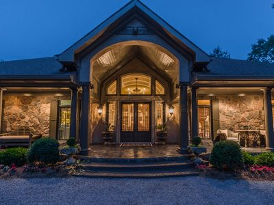 Photo for Sleeps 7 Comfort.  Birchwood Lake Estate, 1/2 mi From Wolf Mountain Winery!