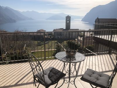 Photo for Apartment with panoramic views of Lake Iseo