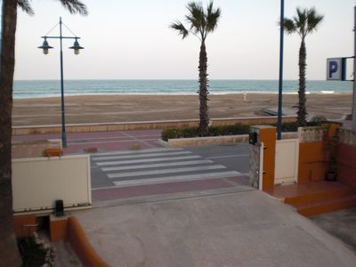 Photo for Apartment in Peniscola (Castellón) 15 meters from the beach