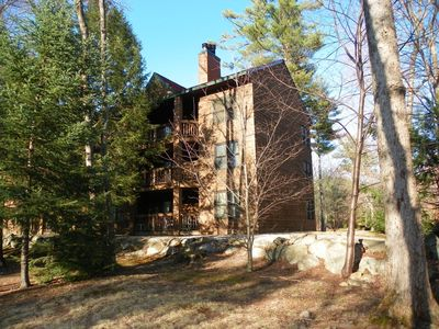 Photo for Great location on the river, easy drive NH attractions and bring your furry friend!