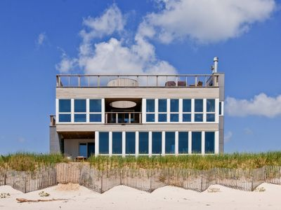 Photo for Modern Oceanfront Dune Retreat