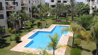 Photo for Luxury Two Bedroom Penthouse Apartment on Roda Golf Resort