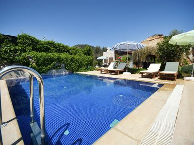 Photo for KAY4800-Private Villa in Kayaköy for 4 people