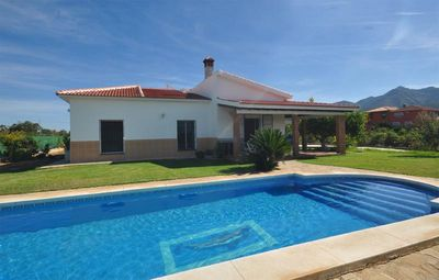 Photo for Fantastic Detached Villa Private Pool, Large Gardens, Wifi, A/C  Panoramic Views