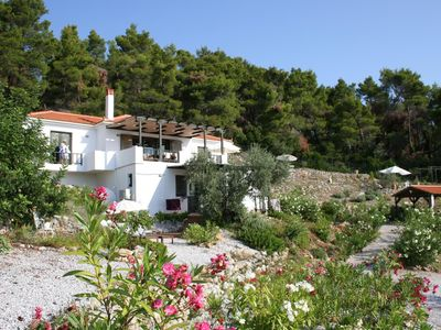 Photo for Stunning  House in The Pines and Olives,Overlooking The Islands and The Sea