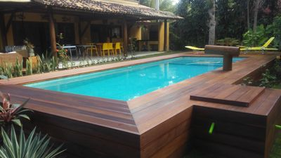 Photo for house in Barra Grande enchants its guests for its large spaces and rooms.