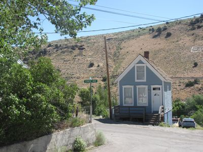 Ghost Town Getaway in the Middle of Nevada