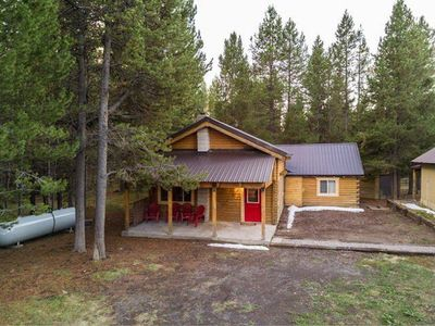 Photo for Big Springs Cabin...Snowmobile/ATV from front door!